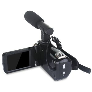 DC888 24MP HD Camcorder 18x Digital Zoom Video Camera for Youtube Live Vlog Night Vision 3 Inch LCD Camera with Microphone