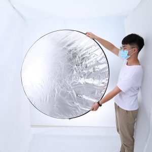 ELEGIANT EGP-B04 5 in1 43 Inch/110cm Light Reflector for Photography Portable Photo Reflector Collapsible Multi-Disc with Bag