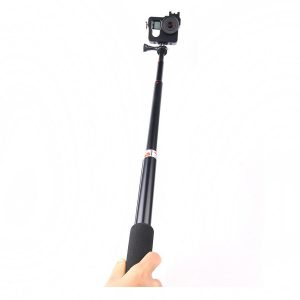 Extendable Folding Monopod Remote Selfie Stick Tripod with bluetooth Shutter for Smartphone Action Camera