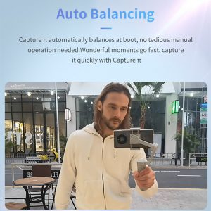 Funsnap Capture π 3-Axis Metal Housing bluetooth Handheld Gimbal Stabilizer Tracking Action for iPhone for GoPro 7 6 5 Sjcam EKEN Yi Action Camera Zoom