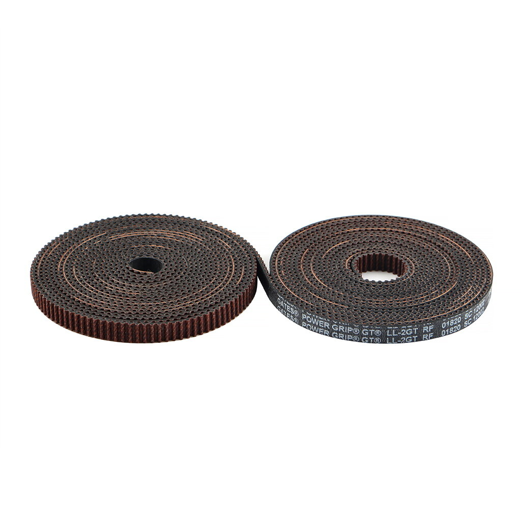 Gates 2GT-6RF 2M/5M Gear Belt GT2 OpenTiming Belt with Copper Buckle for 3D Printer Accessories Creality 3D Ender-3