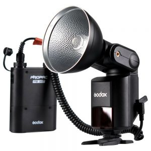 Godox Witstro AD360 II TTL On/Off-Camera Flash Speedlite Kit with PROPAC PB960 Battery Pack for Canon Nikons DSLR Cameras
