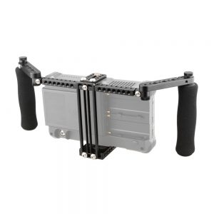 KEMO C1871 Adjustable Stabilizer Cage with Dual Handle for 5 Inch 7 Inch Camera Monitor