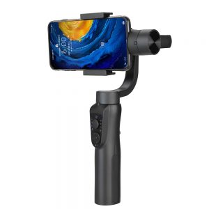 Orsda S5B 3 Axis Handheld Stabilizer Gimbal for Gopro Camera Smartphone Video Record Live Broadcast