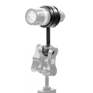 PULUZ PU254 1 Inch Ball Head Mount Adapter Magic Arm To Diving Light Fixed Clip for Underwater Diving Strobe Housing Light