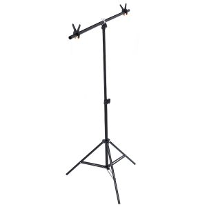 Photography Photo Screen Background Support Stand Triple Stand