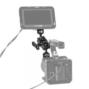 SmallRig 2070 Aluminum Alloy Quick Release Articulating Magic Arm with Double Ballheads + 1/4 inch Screws To Mount Monitors