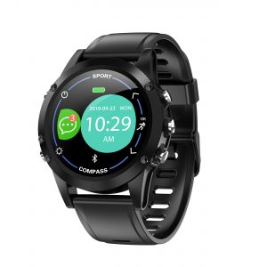 [bluetooth 5.0]Bakeey X5 IP68 Wristband Heart Rate Blood Pressure Monitor Compass Function Long Standby Smart Watch