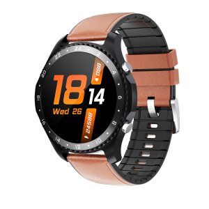 [bluetooth Call] Bakeey CK30 Temperature Measurement Heart Rate Blood Pressure Monitor Dual Manual Smart Watch