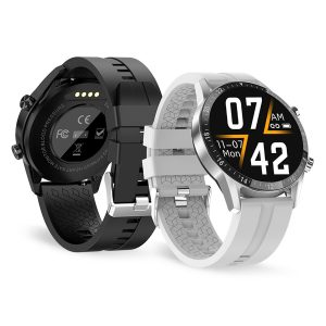 [bluetooth Call] Bakeey G30 1.3 inch Full-Touch Screen Heart Rate Monitor Blood Pressure Oxygen Measure Music Control Smart Watch