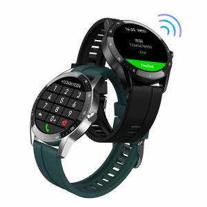 [bluetooth Call] Bakeey S200 1.28 inch Touch Screen Long Standby Heart Rate Blood Pressure Monitor Multi-Sport Modes IP67 Waterproof Smart Watch