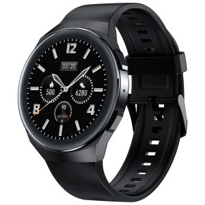 [bluetooth Call]AllCall Active 1.3 Inch Full Round Touch Screen ECG Heart Rate Blood Pressure SpO2 Monitor Music Camera Control Smart Watch