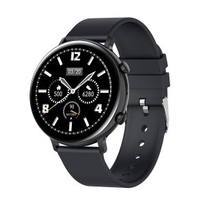 [bluetooth Call]Bakeey GW33 1.3'' Full Touch Screen ECG+PPG Heart Rate Blood Pressure SpO2 Monitor Sport Date Analysis Music Playback Smart Watch