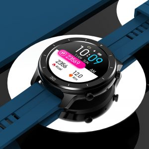 [bluetooth Call]Bakeey M18 Full Touch Heart Rate Blood Oxygen Monitor Dual UI Menu Idle Display Multi-language Smart Watch