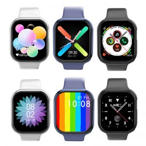 [bluetooth Call]Bakeey Watch 6 1.54 Inch Full Touch Screen 24-hour Heart Rate Blood Pressure Monitor Dual Menu Music Playback Smart Watch