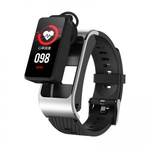 [bluetooth Calling] Bakeey H21 BT5.0 Music Player Body Temperature Detection Health Monitor Detachable Smart Watch