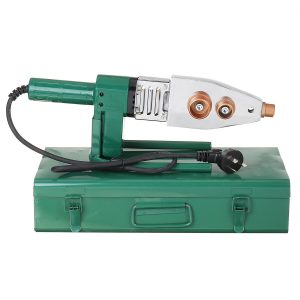 1200W Electric Pipe Welding Machine Heating Tool Heads Set For PPR PB PE Plastic Tube