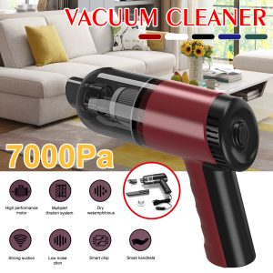 120W 7000PA Wired Hand Held Vacuum Cleaner Mini Portable Car Auto Home Duster