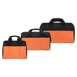 12/14/15 Inch Tool Bag Heavy Duty Storage Pouches Contractor Hardware Shoulder