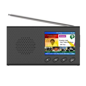 2.4 inch Color LCD DAB Radio Rechargeable Pocket Digital FM DAB MP3 Player Digital Tuner Broadcast