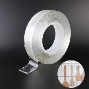 2MM Thick 30MM Wide Transparent Non-Trace Nano Double-Sided Tape 10
