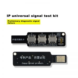 3 in 1 Universal IP Test Card Mobile Phone SIM Test Card Repair Tool for iPhone for Samsung Huawei Android Signal Testing Tool