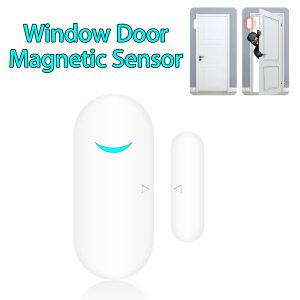 433MHz Door Magnetic Sensor for Alarm System Home Entry Safety Security