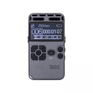 502 Digital Voice Recorder Activated Dictaphone Audio Sound Digital Professional PCM MP3 Music Player Support TF Card