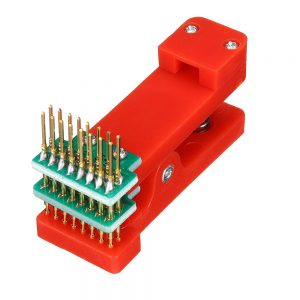 7P/8P Test Rack Double Row Wireless Probe Jig Fixture Tester Tool PCB Clip Burning Clip