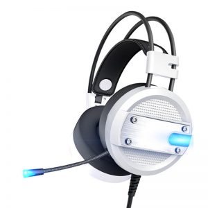 A10 3.5mm E-sports Gaming Luminous Earphones Noise Reduction HiFi Wired Headphone With Mic