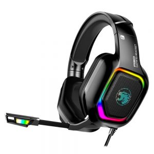 A30 3.5mm Wired Gaming Headset Surround Sound Bass Gaming Headphones Noise Reduction LED Light Stereo Over-Ear Headphones With Microphone