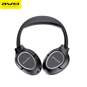 AWEI A770BL Wireless bluetooth Headphones HIFI Stereo 40mm Dynamic Driver Earphone 3.5mm AUX-In Foldable Over-head Gaming Sports Headset with Mic
