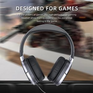 AWEI A799BL Gaming Headset Wireless bluetooth Headphones Stereo Foldable Noise Reduction Light Headset Headphone with Mic