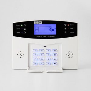 Angus 433Mhz GRPS GSM PSTN Smart Home Security Intruder Burglar Alarm System Wire & Wireless Intercom with 110db Siren for House Type C