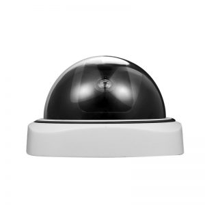 EMASTIFF Fakes Dummy Security CCTV Home Camera Night Monitoring Fakes Surveillance Camera with Red LED Light