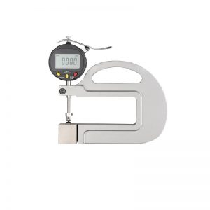 0-10mm 0.001mm High Accuracy Digital Micron Thickness Gauge with Roller Insert Computer PLC Connectable