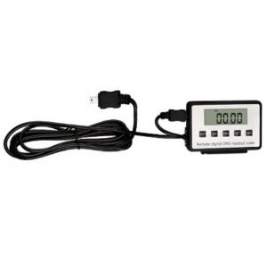 0-12.7/25.4mm Remote Dual Screen Digital Display Dial Indicator with LCD Display Box Automobile Inspection Tooling