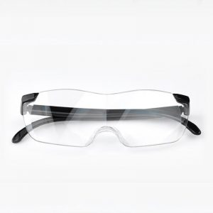 1.6x Magnifying Glasses Magnifying Lens Wearable Reading and Newspaper Reading 250° Reading Glasses
