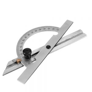10-170 Degree Angle Ruler 153/300mm Stainless Steel Protractor Adjust Woodworking Measuring Tool