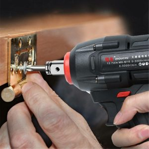 100-240V 21V Cordless Brushless Electric Wrench 800N.m Impact Wrench 20000mAh Recharge