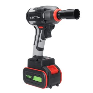 100-240V Torque 450NM Electric Impact Wrench Cordless Motor Brushless Rattle Driver