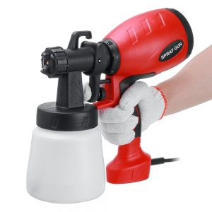 1000W 800ML Electric Spray Guns Handheld Paint Sprayer Alcohol Disinfectant Spraying Machine Home Car Painting Tool