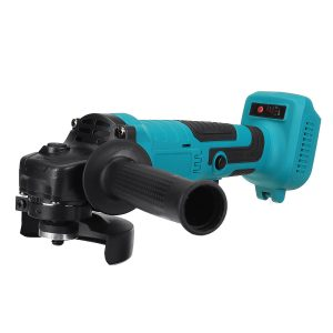 100/125mm Brushless Cordless Angle Grinder Polisher Cutting Tool W/ None/1/2 Battery For Makita