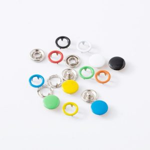 100/200 Sets DIY Press Studs Tools Kit Assorted Colors Snap Metal Sewing Buttons