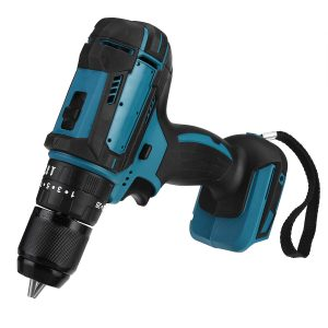 10/13mm Brushed Electric Drill Impact Drill Hammer Screwdriver for Makita 21V Battery