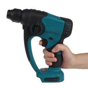 1080W Brushless Rotary Hammer Drill Electric Demolition Hammer Impact Drill For Makita 18V Battery