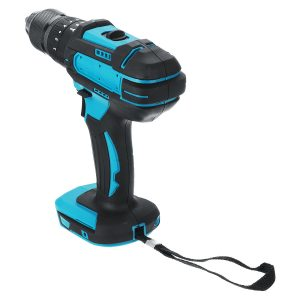 10mm Chuck Impact Drill 350N.m Cordless Electric Drill For Makita 18V Battery 4000RPM LED Light Power Drills