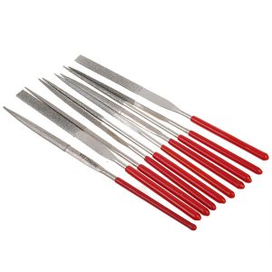 10pcs Combination Package Assorted Trim File Triangular File 140mm