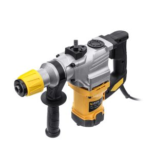1100W 220V 800r/min Electric Demolition Hammer Drill Concrete Breaker with Carry Case