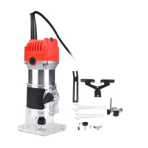 1100W Electric Hand Trimmer Palm Router Wood Laminate Joiner Tool Variable Speed